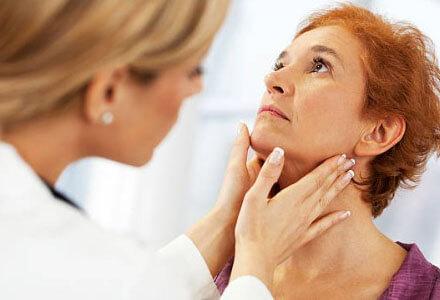 Пальпация мягких тканей шеи