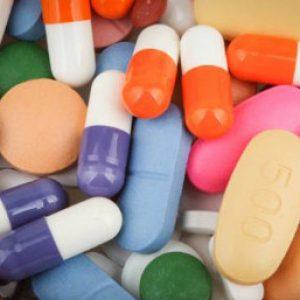 Разноцветные таблетки и пилюли