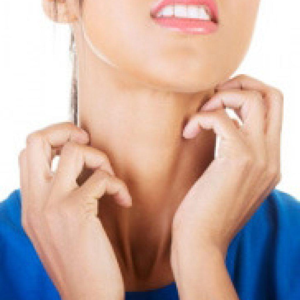 Боль в горле опухла шея