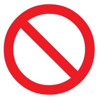 Знак, запрещающий делать что-либо