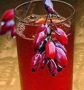 Красный морс из барбариса