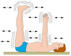 Специальные упражнения с раскачиванием