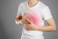 Чувство давления и распирания в грудной клетке